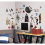 Star Wars Classic Peel And Stick Wall Calcamonias De Pared
