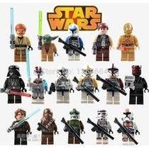 Set Star Wars Ladrillos Tipo Lego 8 Figuras