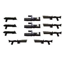 Bracitos 11 Piezas Weapon Set: Clone Blaster Minigun Replica