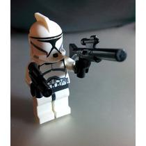 1 Clone Trooper Star Wars Compatible Con Lego - Jedi