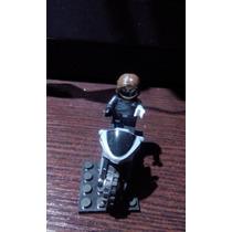 Moto Soldado De Invierno Compatible Con Lego