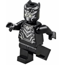 Civil War Black Panther Pantera Negra Minifigura Compatible