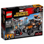 Lego Heroes 76050 Capitán América Civil War