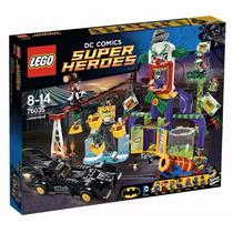 Lego Súper Héroes 76035 Parque Diversiones Guasón 1037pzs