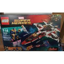 Lego Súper Héroes Avenjet Space Mission 76049
