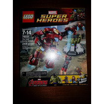Lego 76031 Marvel Avengers Hulkbuster Iron Man Ultron Hulk