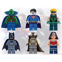 Set Bane Mascara De Super Heroes Lego 6 Diferentes Figuras