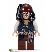Lego Jack Sparrow Piratas Del Caribe 4182 Legobricksrfun