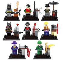 Figuras Superheroes Y Villanos Compatibles Con Lego Batman