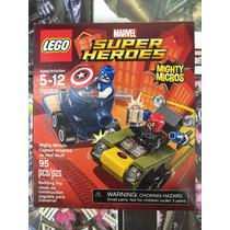 Lego Super Heroes Captain America Vs Red Skull 76065
