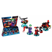 Fun Pack Lego Dimensions Joker And Harley Quinn