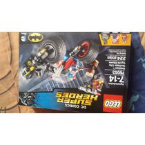 Lego Batman Persecucion En Moto,deatshot,harleyqueen,barato