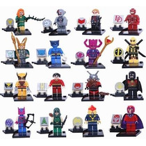 4 Figuras Super Heroes Marvel Dc