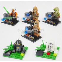 Set Personajes Starwars Compatibles Con Figura Lego