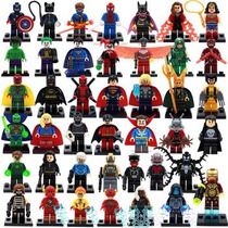 6 Figuras Super Heroes Marvel Dc