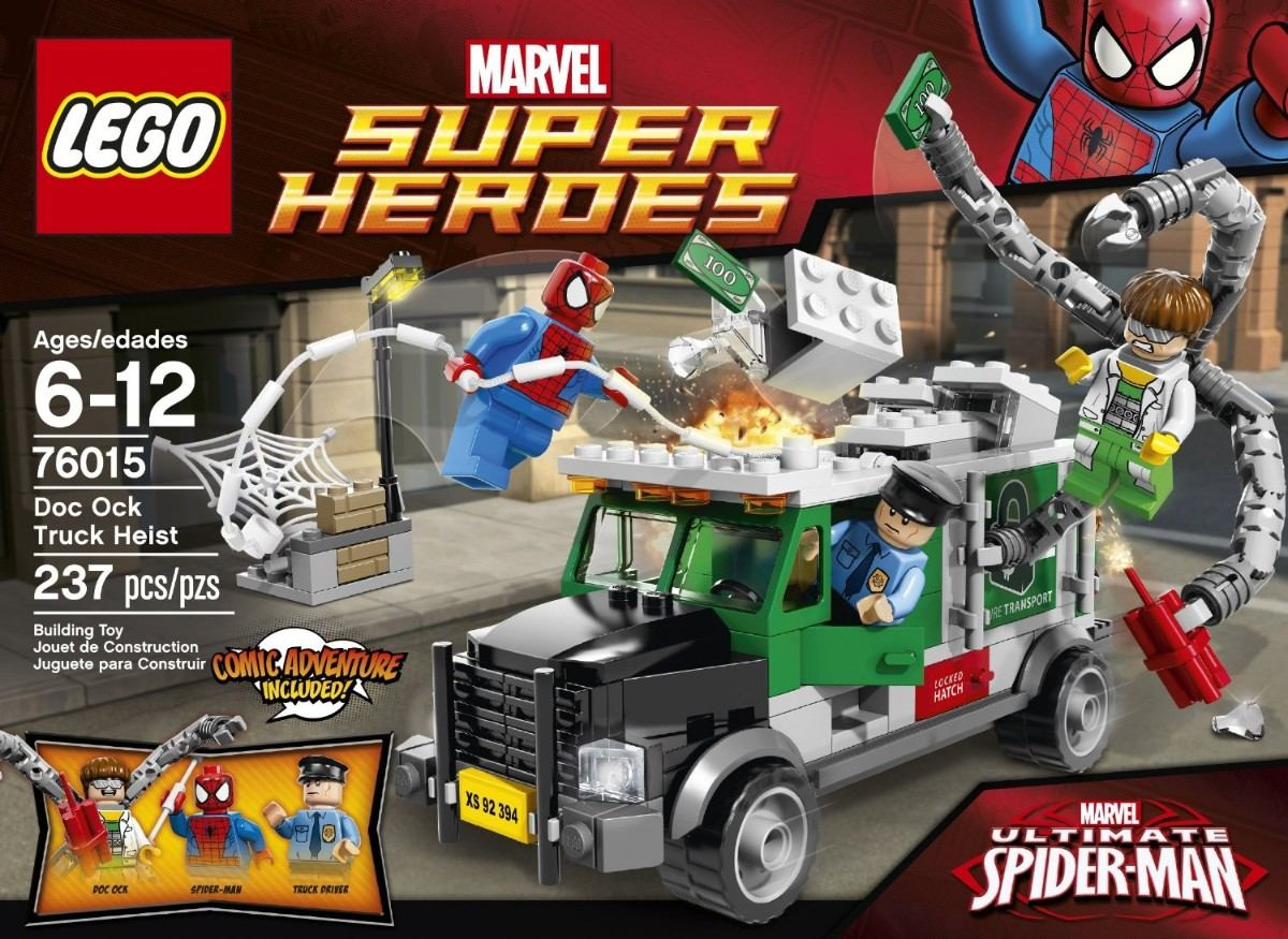 lego ultimate spider-man   76015 marvelLego Marvel Spider Man