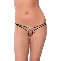 Butterfly Metal G-string - Pack De 2 Piezas