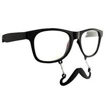 Gafas Lentes Nerds Grunge Geek Hipster Mostacho