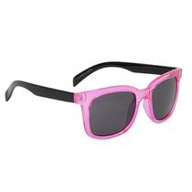Hot Topic Lentes Square Pink Black Arm Retro Sunglasses