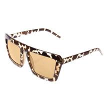 Modernas Gafas De Sol Estilo Leopardo Con Protección Uv400