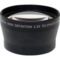 Lente Telefoto 2.2x 67mm Sony, Canon, Nikon Profesional Hm4