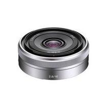 Lente Gran Angular Sony Alpha 16mm F2.8 Emount Nex5 Nex3 Maa