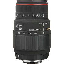 Sigma 70-300mm F/4-5.6 Apo Dg Macro - Envio Asegurado Gratis