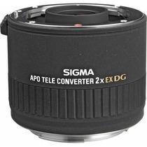 Sigma 2x Ex Dg Apo 876101si Lente Teleconvertidor Para Canon