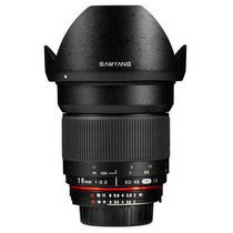 Lente Gran Angular Samyang 16mm F/2.0 P Sony Nex E-mount Hm4