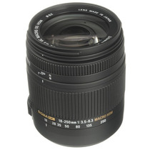Lente Sigma 18-250 Mm F3.5 Hsm Dc Os Para Canon