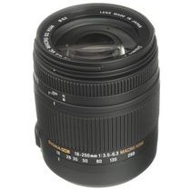 Lente Sigma 18-250 Mm F3.5 Hsm Dc Os Para Nikon