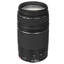 Lente Canon Ef 75-300mm F/4-5.6 Iii Telefoto Zoom Reflex Eos