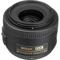 Lente Nikon 35mm F/1.8g Af-s Nikkor Fx Para Reflex Slr