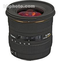 Sigma Lente 10-20mm F/4-5.6 Ex Dc Hsm Para Canon