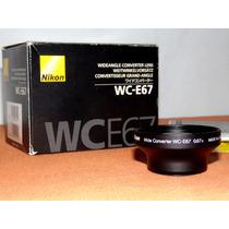 Lente Para Nikon P5000 Y P5100 Wc-e67 Gran Angular Converter