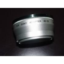 Adaptador De Lentes Para Camara Fotografica Sony 45 52