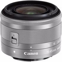 Lente Canon Ef-m 15-45mm F / 3,5-6,3 Is Stm (plata)