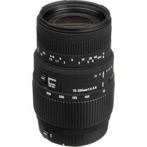 Sigma Lente 70-300mm F/4-5.6 Dg Macro Para Canon