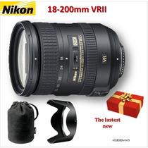 Lente Nikon Nikkor Af-s 18-200mm (11 X) F/3.5-5.6g Vrii Dx