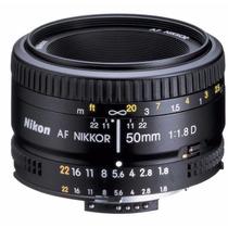 Lente Nikon 50mm 1.8 Luminoso Ultima Pieza Envio Rapido