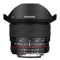 Lente Ojo De Pez Samyang 12mm F2.8 Full Frame P/ Canon