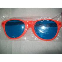 Gcg Lentes Gafas Naranjas Con Mica Para Disfraz Broma Dvn