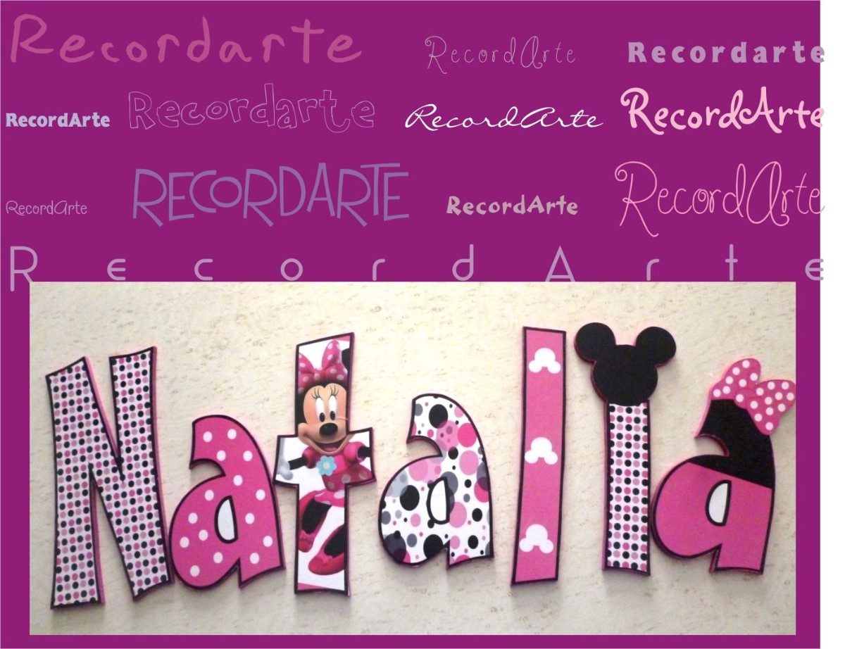 Letras para decorar el cuarto de los pekes y no tan pekes - Letras bebe decoracion ...