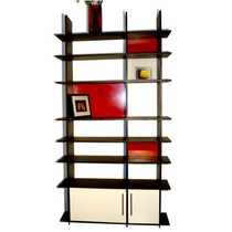 Librero Kelet, Elegante Diseño Minimalista Escandinavo