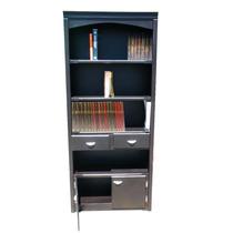 Librero Minimalista, Chocolate, Libros Au1