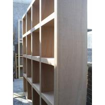 Librero En Madera Sólida De Banak Konetl