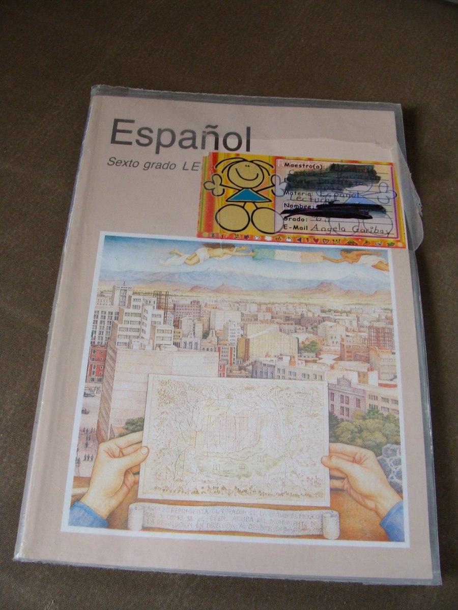 Libro espa ol sexto grado lecturas a o 2003 en for Espanol lecturas cuarto grado 1993