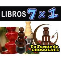 Aprende Todo Sobre Las Fuentes De Chocolate, Quesos Y Chamoy