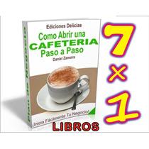 Aprende Todo Sobre El Cafe Y Cafeterias , Envio Gratis