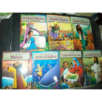Gcg 1 Lote De 7 Mini Historias Biblicas Biblia Niños Op4